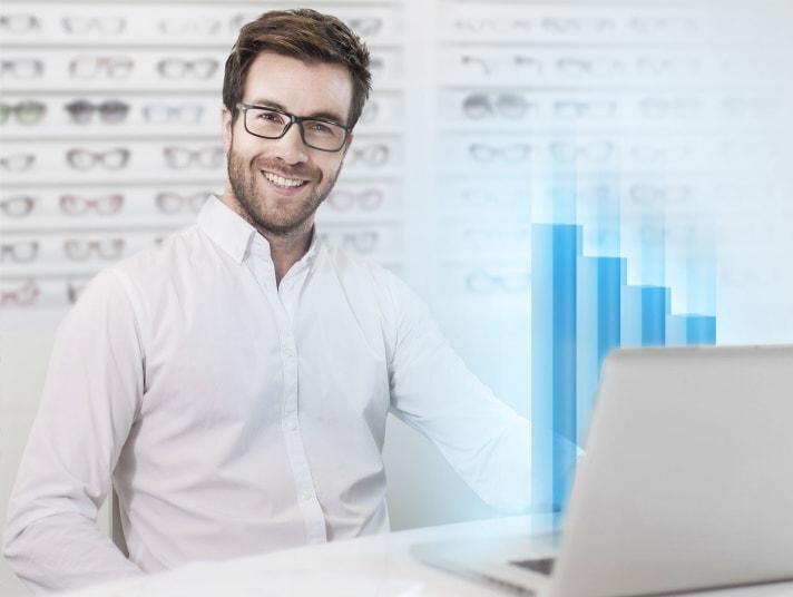 AMPAREX Software für Augenoptiker